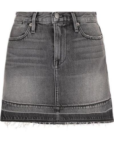 Юбка мини джинсовая Frame Denim