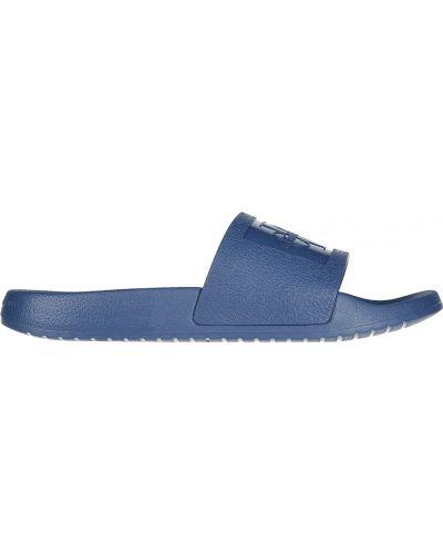 Синие шлепанцы Calvin Klein Jeans