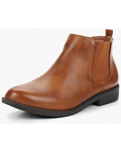 Ботинки челси осенние коричневые Style Shoes