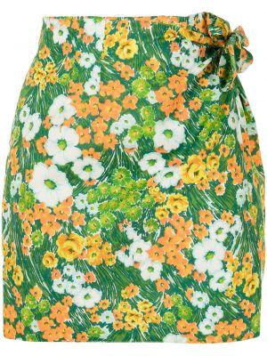 Зауженная юбка мини - зеленая Alice Mccall