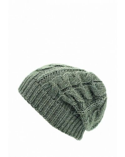 Зеленая шапка осенняя Flioraj