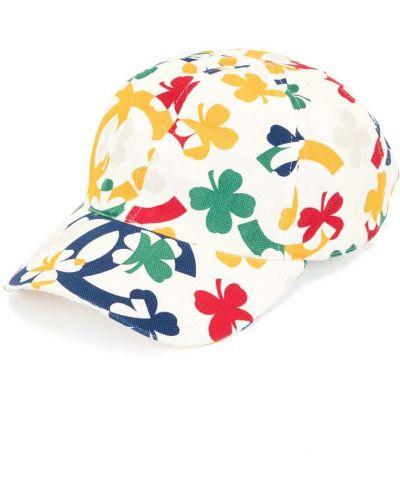Brezentowy biały czapka z daszkiem Chanel Pre-owned