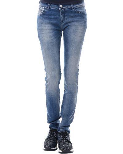Хлопковые джинсы - голубые Armani Jeans