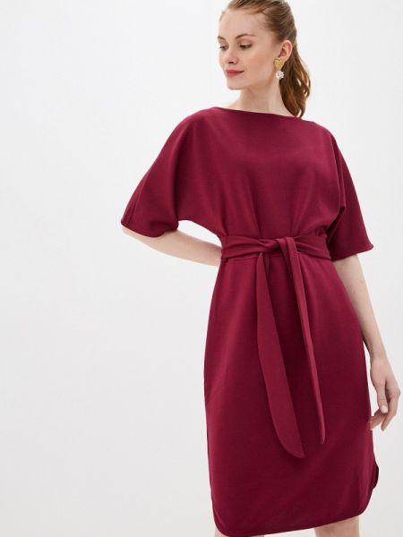 Платье прямое красный Baon