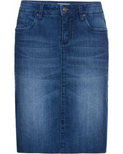 Джинсовая юбка стрейч Bonprix