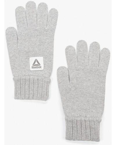 Перчатки серые Reebok