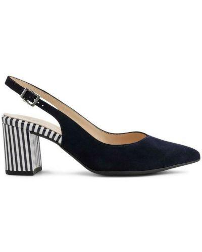 Sandały - niebieskie Peter Kaiser