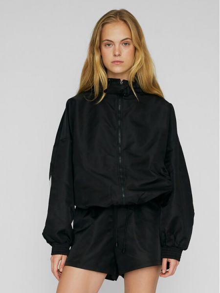 Czarna kurtka przejściowa Rotate