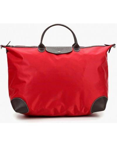 Дорожная сумка красная Antan