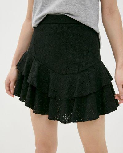 Джинсовая юбка - черная Guess Jeans