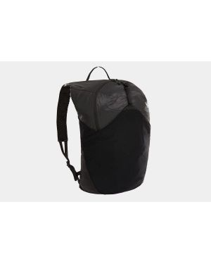 Czarny plecak w paski z nylonu The North Face