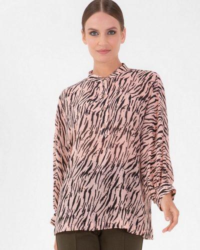 Розовая блузка осенняя Lo