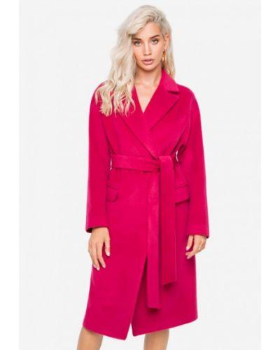 Пальто демисезонное розовое Solou