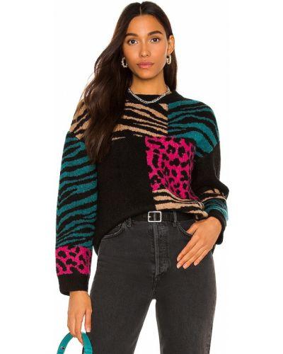 Пуловер из мохера - черный Rails