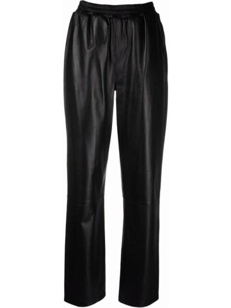 Черные брюки с завышенной талией Arma