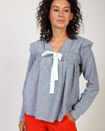 Хлопковая блузка S.oliver