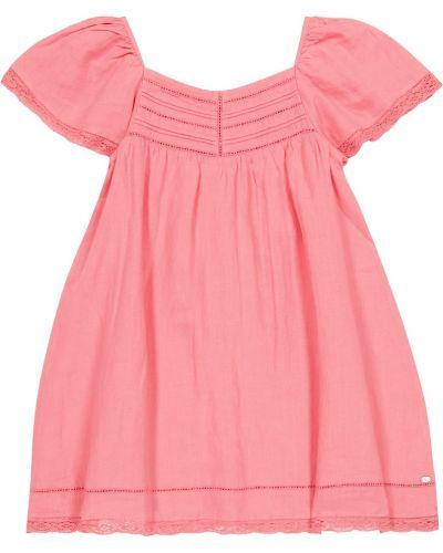 Льняное розовое платье Tartine Et Chocolat
