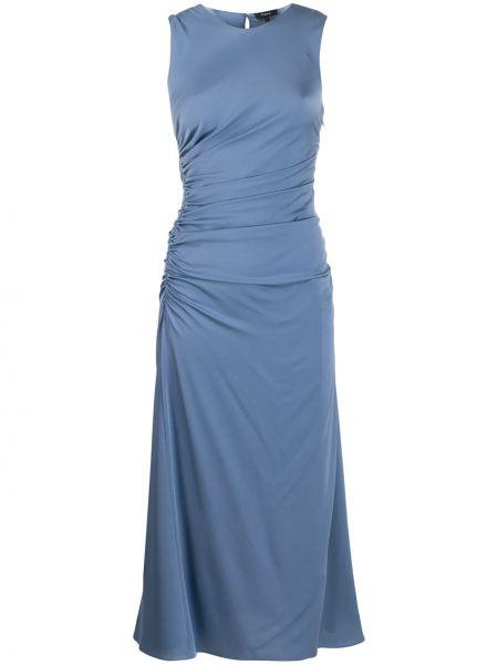 Платье шелковое платье-солнце Theory
