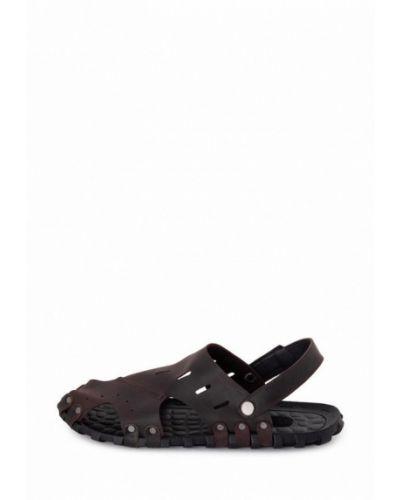 Кожаные сандалии - коричневые Tomfrie