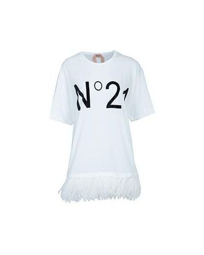 Футболка белая No.21