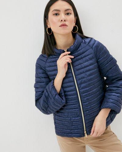 Утепленная синяя куртка Iblues