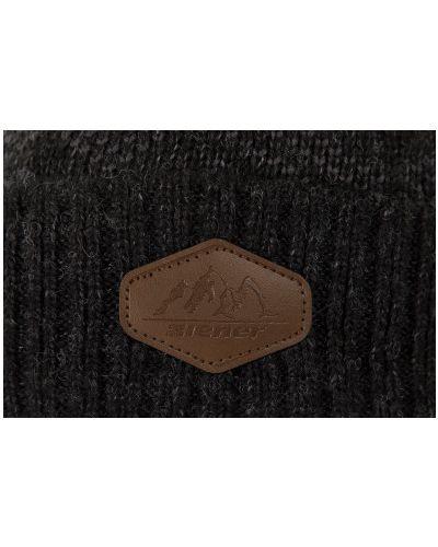 Вязаная шапка - черная Ziener