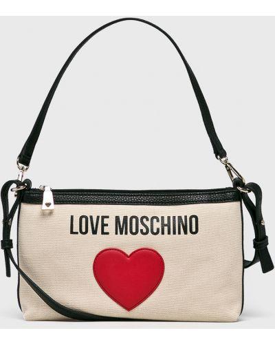 Сумка через плечо маленькая на руку Love Moschino