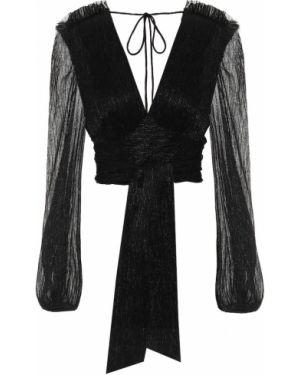 Джинсовая блузка - черная Rebecca Vallance