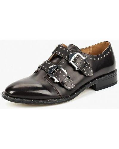 Кожаные ботинки осенние на каблуке Keddo