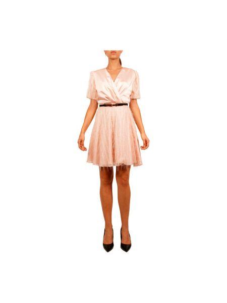 Brązowa sukienka Hanita