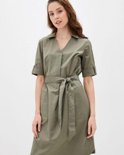 Повседневное зеленое платье Betty Barclay