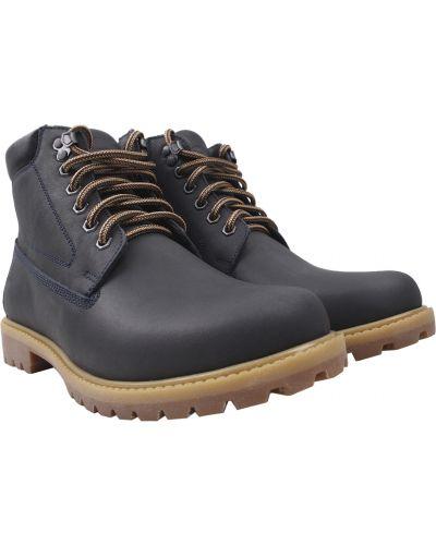 Кожаные ботинки - синие Tonkelli
