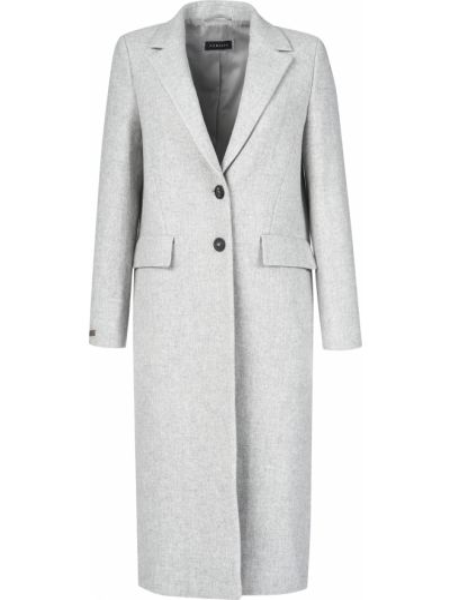 Шерстяное пальто - серое Peruffo