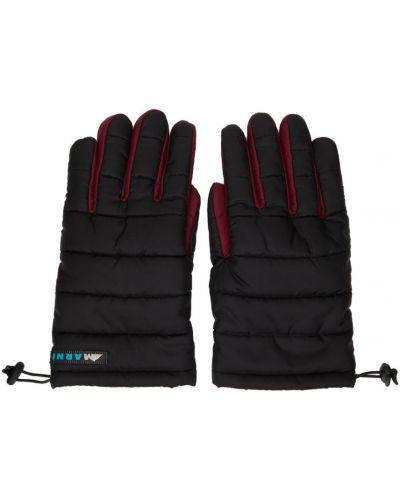 Rękawiczki z nylonu - czarne Marni