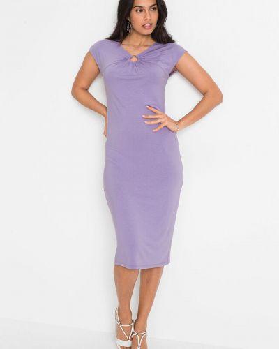 Платье футляр - фиолетовое Bonprix