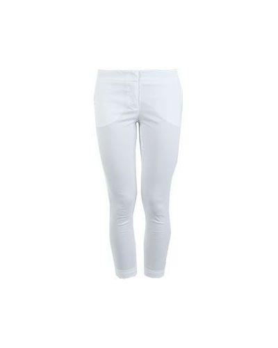 Летние брюки белые Flavio Castellani