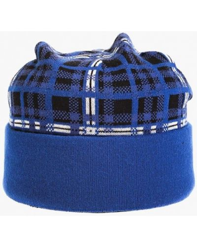 Синяя шапка осенняя Vittorio Richi