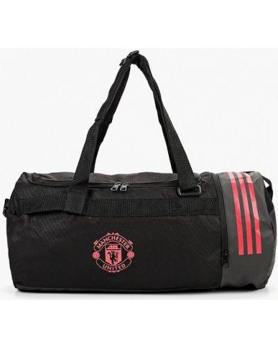 Черная спортивная сумка Adidas
