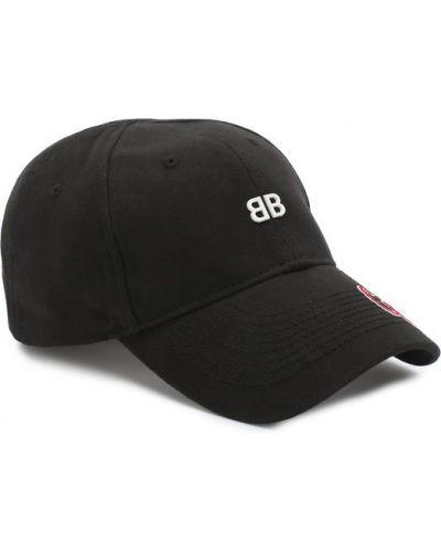 Черная бейсболка Balenciaga