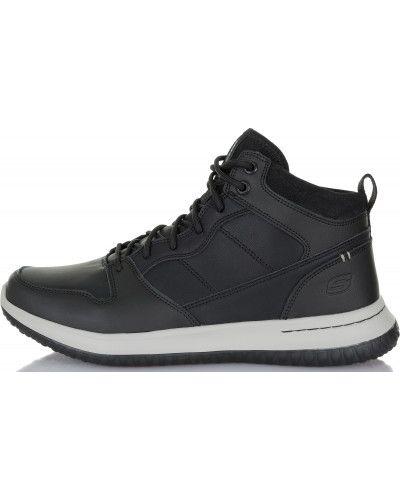 Кожаные ботинки демисезонные спортивные Skechers