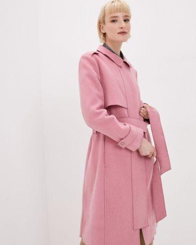 Розовое пальто Tantra