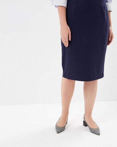 Юбка синяя Marks & Spencer