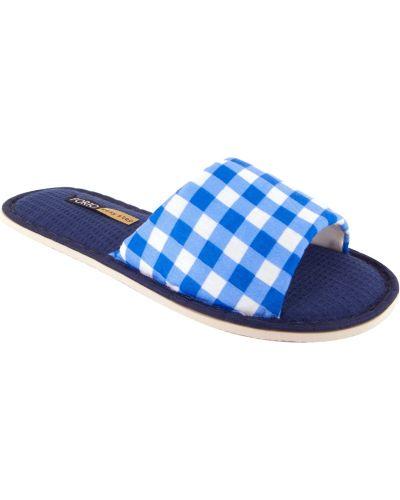 Тапочки синий Forio