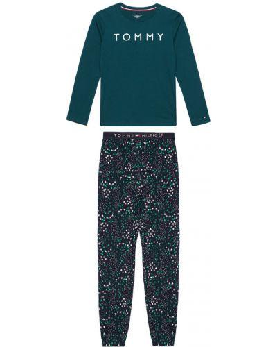 Piżama - zielona Tommy Hilfiger