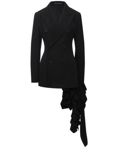 Шерстяной пиджак с подкладкой Yohji Yamamoto