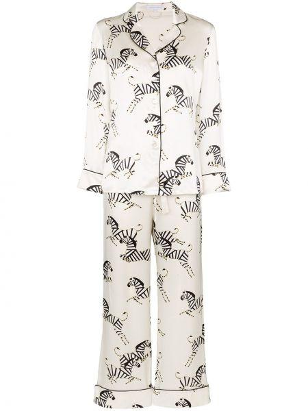 Пижама на пуговицах пижамный Olivia Von Halle