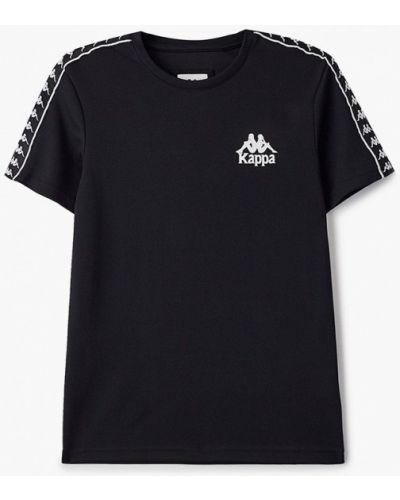 Черная футболка Kappa