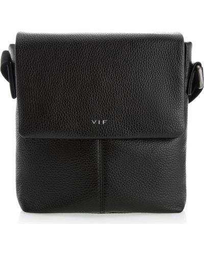 Кожаная сумка - черная Vif