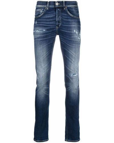 Niebieskie mom jeans Dondup