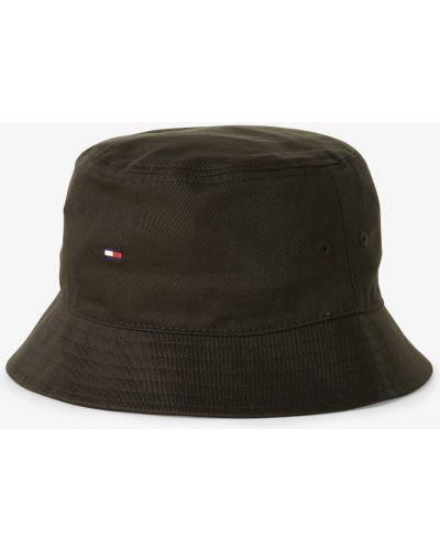 Czarna kapelusz Tommy Hilfiger